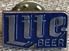 Vintage Miller Lite Beer Lapel Pin