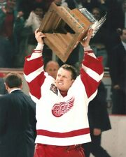 1997 STANLEY CUP 8x10 Conn Smythe Trophy NHL Photo MIKE VERNON Detroit Red Wings