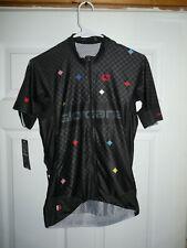 Giordana Men's Cycling FRC PRO Moda Diamante Jersey S/Sleeve Black Medium NEW
