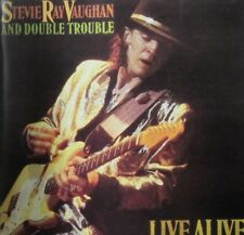 STEVIE RAY VAUGHAN AND DOUBLE TROUBLE - LIVE ALIVE - CD