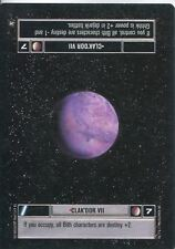 Star Wars CCG A New Hope Limited BB Clak'dor VII