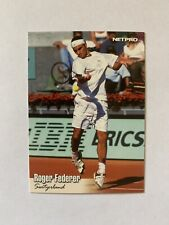 ROGER FEDERER Rookie, # 11 NETPRO PREMIER 2003. RARE card. MINT. Tennis ATP Tour