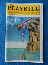 Twelfth Night - Beaumont Playbill w/Ticket - Opening Night - July 16th, 1998