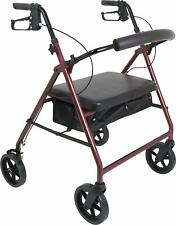 Probasics Heavy Duty Aluminum Bariatric Rollator with 8-inch Wheels