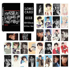 30pcs /set Cute Kpop Super Junior all members Photo Picture Poster Lomo Cards