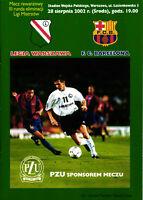 EC I 2002/2003 Legia Warschau / Warszawa - FC Barcelona, CHAMPIONS LEAGUE