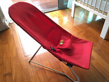 Vee Bee Serenity Plain Baby Bouncer RED (used, for pickup)