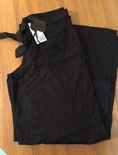 Long Tall Sally Linen Mix Trousers 14 34 BNWT