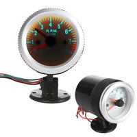 "Auto Car Motor 2"" 52mm Tacho Tachometer RPM Pointer Gauge Meter W/ Holder Cup"