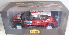 CITROEN C3 WRC - 2017 - K. MEEKE 1/18 SCALE RALLY CAR ALTAYA MODEL