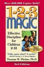 1-2-3 Magic: Effective Discipline for Children 2-12 (123 Magic)-ExLibrary