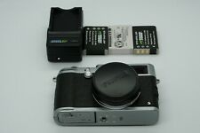 Fujifilm X100S 16.3mp Digital Camera, with lens cap + 3 batteries + charger