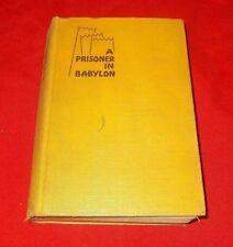 """""""A Prisoner in Babylon""""  Madeleine Strain *1930* 1st Edition  HC Macauley"""