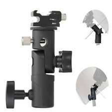 Hot Shoe Umbrella Holder Mount E Type Flash Light Stand Bracket For DSLR Camera