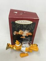 Hallmark Keepsake Ornaments 1995 Garfield * Christmas Angel ** FREE SHIPPING **
