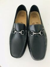 Nordstrom 14th & Union LEA Black Smooth Driving Shoes-Loafers-Slip On Sz 16M