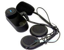 2Pcs Headset Earphone Microphone D1 Helmet Bluetooth Intercom For T-COM FDC Cold