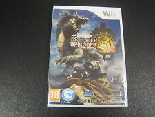 MONSTER HUNTER TRI 3 NINTENDO Wii  SIGILLATO IMPORT