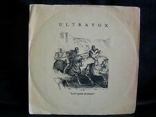 VINYL 45 T NEW WAVE – ULTRAVOX : LOVE'S GREAT ADVENTURE + LIVE ! – 1984