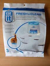 Catit fresca y transparente de Espuma De Repuesto Filtros De Carbón Pack De 3 De Hagen Fuente
