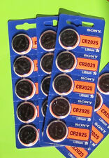 ****Sony CR2025 2025 DL2025 CR 2025 3V Battery Fresh Expire 2025 (pack 20 count)