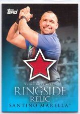2009 Topps World Wide Wrestling Authentic Event-Worn Shirt Santino Marella