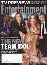 American Idol Entertainment Weekly Jan 2011 Hunger Games Green Hornet Skins