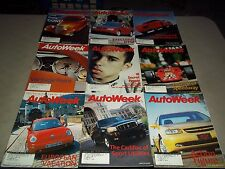 1998 AUTOWEEK MAGAZINE LOT OF 51 ISSUES - GREAT CARS AUTOMOBILES ADS - M 426