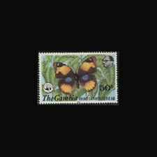 Gambia, Sc #405, MNH, 1980, Butterfly, insect, WWF, AR5FSDD