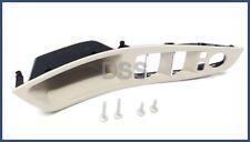Genuine BMW Left Front Door Switch Panel Trim 5-Series Driver Oyster 51417225879