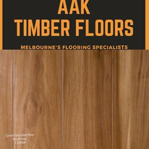 Cheapest 12mm Laminate Flooring / Brush Box /timber Flooring /  $1Sample