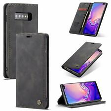 Samsung Galaxy S10+ Case - Flip Flap Foldable Wallet Cases with Card Holder