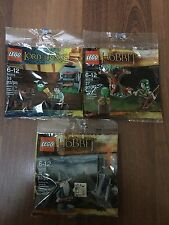 NEW LEGO 30210 Frodo & 30212 Mirkwood Elf Guard & 30213 Gandalf   SEALED