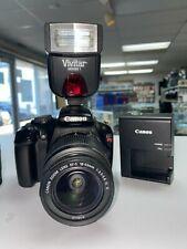 Canon EOS Rebel T3 Digital Camera + Lenses 75-300mm & 18-55mm