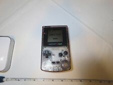 Nintendo Game Boy Color Atomic Atomic Purple CGB-001 Handheld System RARE consol