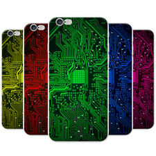 Azzumo Circuit Motherboard Computer Close Up Soft Thin Case Cover For the iPhone