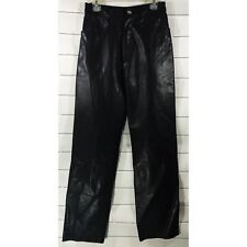 Wilsons Maxima Genuine Leather Pants Skinny High Waist Lined Womens Black Size 2
