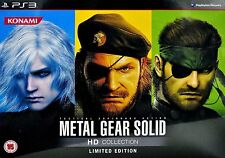 Metal Gear Solid HD Collection: Limited Edition [PlayStation 3 PS3, Region Free]