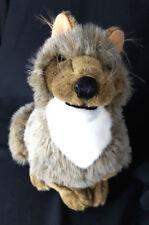 """Folkmanis Coyote Wolf Dog Life-like Soft Plush Hand PUPPET Toy Large 15"""""""