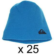 Warm Ski Quiksilver Beanie Hat Cap Unisex Synthetic Acrylic Blue One Size x25