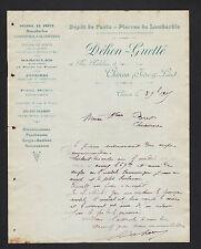 "CHINON (37) POTERIE en FONTE & OUTILLAGE ""DEHON & GUETTE"" en 1905"