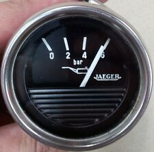 JAEGER OIL PRESSURE GAUGE 52MM. MANOMETER. MANÓMETRO.