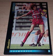 CARD GOLD 1993 CREMONESE GUALCO CALCIO FOOTBALL SOCCER ALBUM