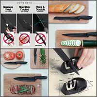 Stainless Steel Knife Set Block 13 Kitchen Knives Set Chef Knife Knife Sharpener