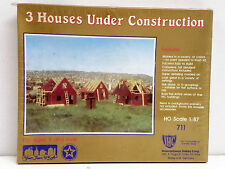 "I.H.C. Ho U/A ""3 Houses Under Construction"" Plastic Model Kit"