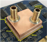 Water cooling copper block FOR  GPU  AMD Intel Cpu Northbridge Southbridge IC