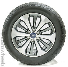 """4 New Takeoff 2019 Ford F150 20"""" Factory OEM Gray Machined Wheels Rims Tires"""