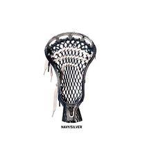 New Reebok Lax 10K lacrosse head strung Navy Blue/White 5.0.5 brand retails $115