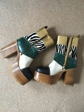 Marni Platform Boots UK 4 REDUCED FOR A QUICK SALE