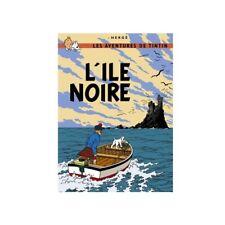 Postal del álbum de Tintín: La isla negra 30075 (10x15cm)